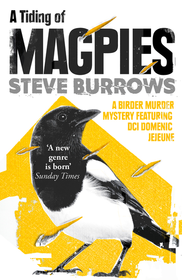 A Tiding of Magpies - Birder Murder Mystery 5 - cover