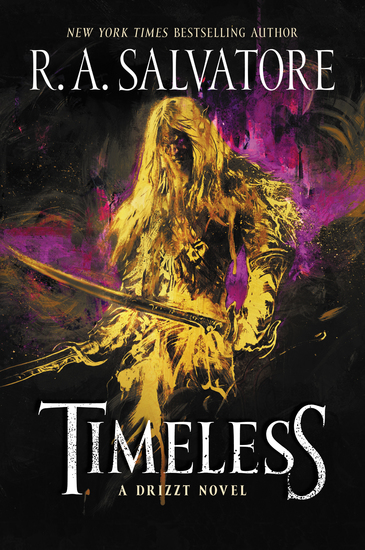 Timeless - A Drizzt Novel - cover