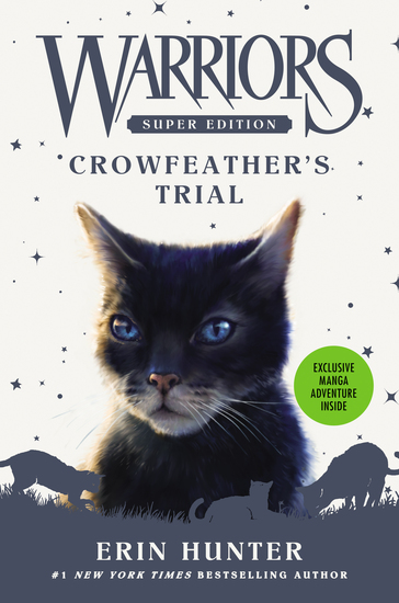 Warriors Super Edition: Crowfeather's Trial - cover