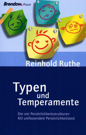 Typen und Temperamente - Die vier Persönlichkeitsstrukturen - cover