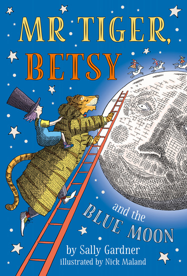 Mr Tiger Betsy and the Blue Moon - cover