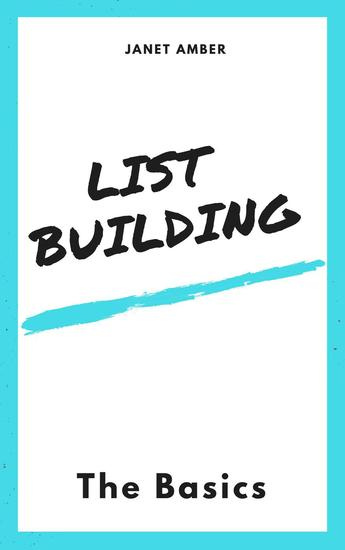 List building: The Basics - cover