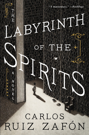 The Labyrinth of the Spirits - cover