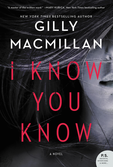 I Know You Know - A Novel - cover