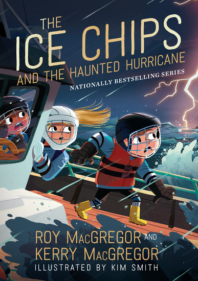 The Ice Chips and the Haunted Hurricane - Ice Chips Series Book 2 - cover