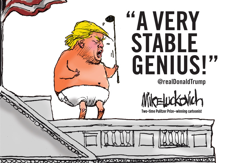 A Very Stable Genius - cover