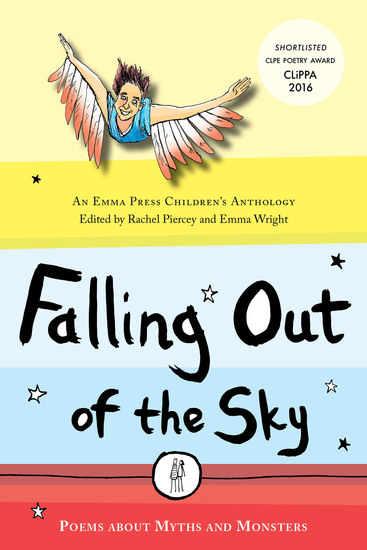 Falling Out of the Sky - Poems about Myths and Monsters - cover
