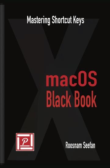 macOS Black Book - Mastering Shortcut Keys - cover