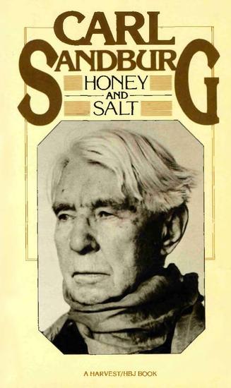 Honey and Salt - cover