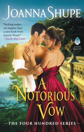 A Notorious Vow - The Four Hundred Series - cover