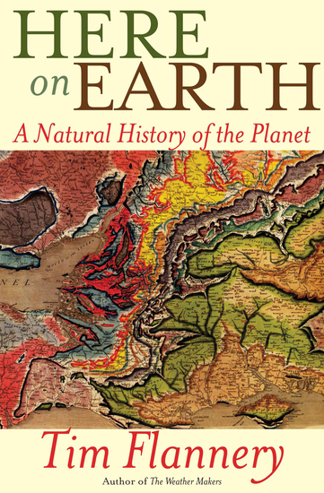 Here on Earth - A Natural History of the Planet - cover