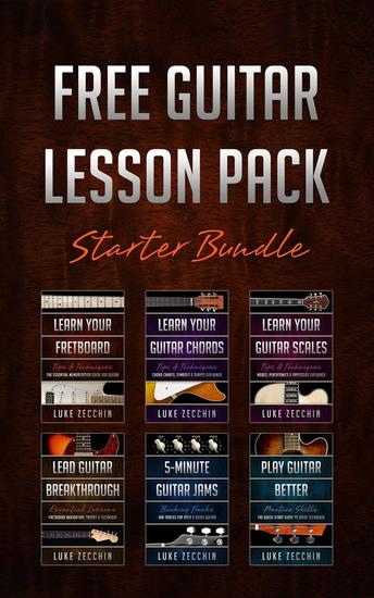 The Guitar Lesson Pack: Starter Bundle - cover