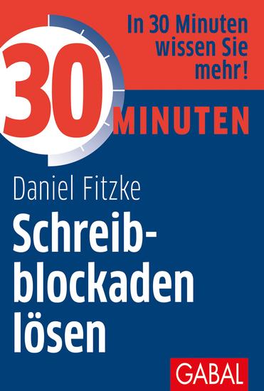 30 Minuten Schreibblockaden lösen - cover