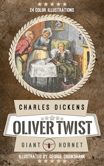 Oliver Twist - Color illustrated - cover