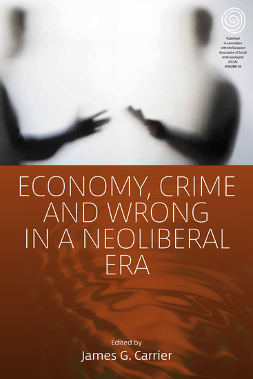 Economy Crime and Wrong in a Neoliberal Era - cover