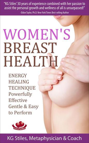 Women's Breast Health - Energy Healing Technique - Energy Healing - cover
