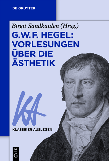 G W F Hegel: Vorlesungen über die Ästhetik - cover