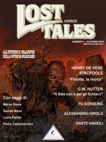 Lost Tales: Horror n°1 - Estate 2018 - cover