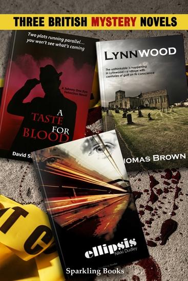Three British Mystery Novels - cover