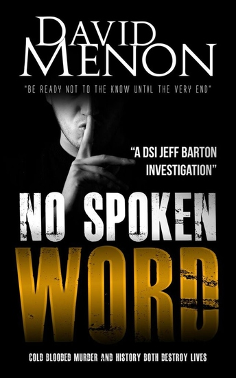 No Spoken Word - A Manchester crime thriller featuring DSI Jeff Barton - cover