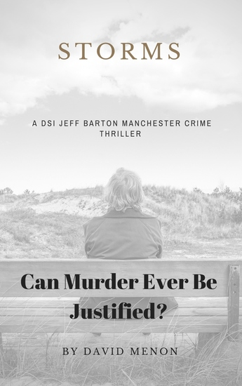 Storms - A Manchester crime thriller featuring DSI Jeff Barton - cover