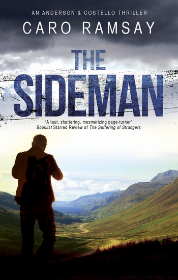 Sideman The - A Scottish police procedural set in Glasgow - cover