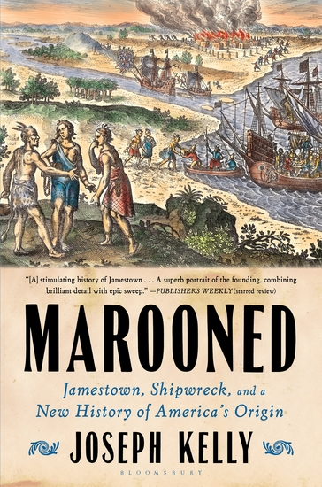 Marooned - Jamestown Shipwreck and a New History of America's Origin - cover