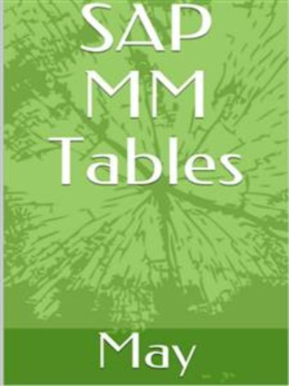 SAP MM Tables - cover