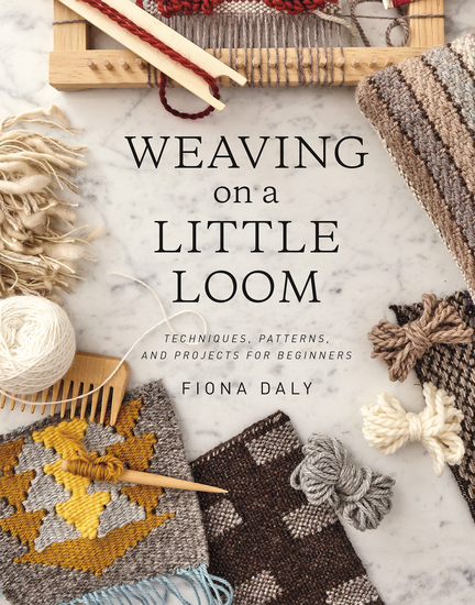 Weaving on a Little Loom - cover