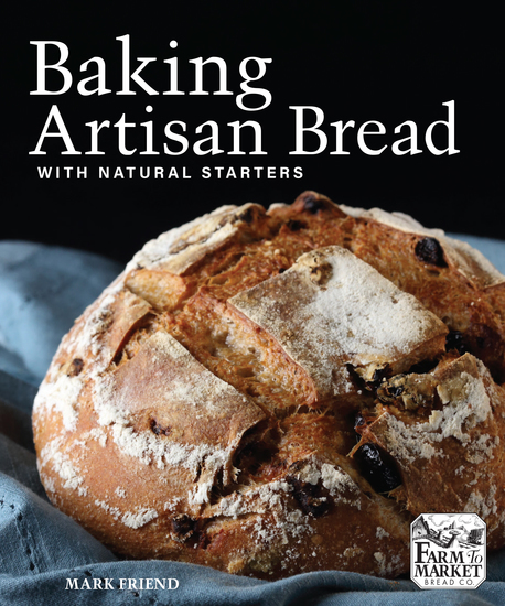 Baking Artisan Bread with Natural Starters - cover