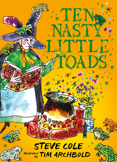 Ten Nasty Little Toads - The Zephyr Book of Cautionary Tales - cover