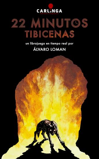 22 Minutos Tibicenas - Un librojuego en tiempo real - cover