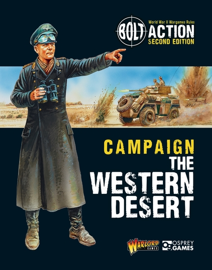 Bolt Action: Campaign: The Western Desert - cover