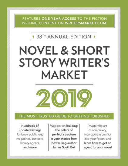 Novel & Short Story Writer's Market 2019 - The Most Trusted Guide to Getting Published - cover