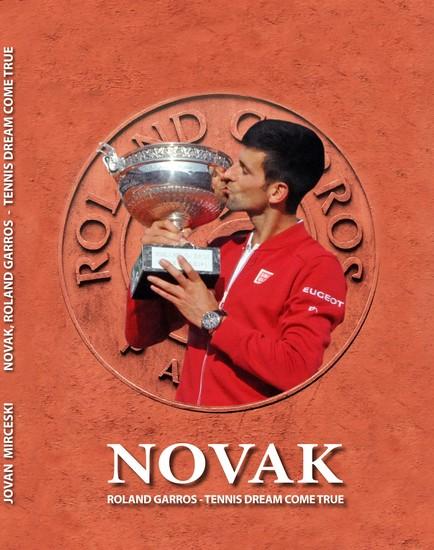 Novak Roland Garros - Tennis Dream Come True - cover