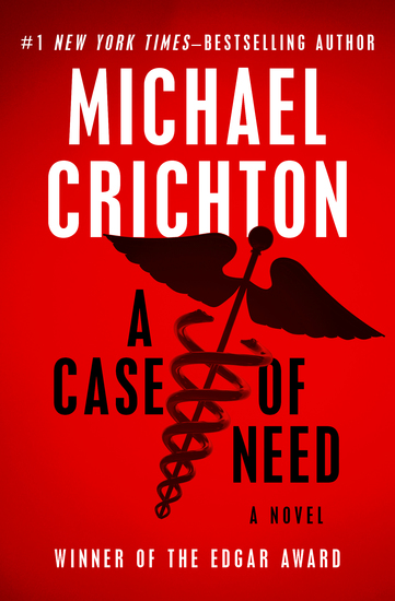 A Case of Need - A Novel - cover