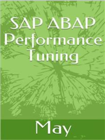 SAP ABAP Performance Tuning - cover