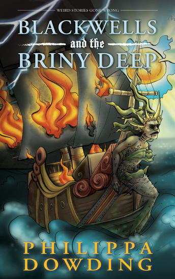Blackwells and the Briny Deep - Weird Stories Gone Wrong - cover