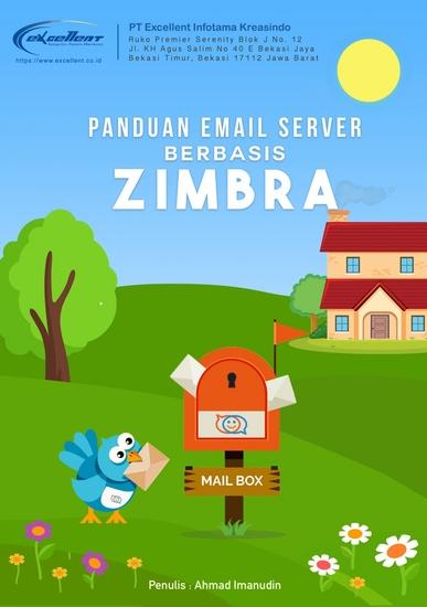 Panduan Instalasi & Konfigurasi Mail Server Berbasis Zimbra - cover