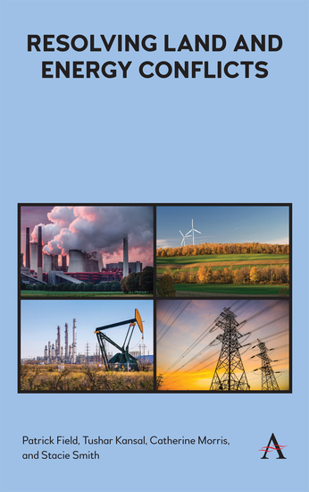 Resolving Land and Energy Conflicts - cover