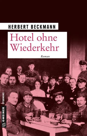 Hotel ohne Wiederkehr - Roman - cover