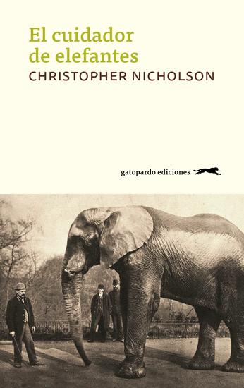 El cuidador de elefantes - cover