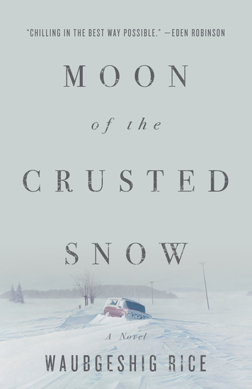 Moon of the Crusted Snow - A Novel - cover
