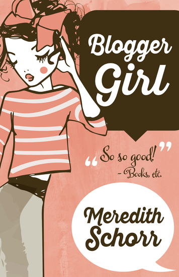 Blogger Girl - cover
