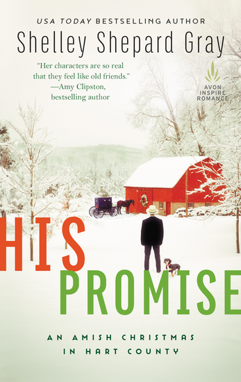 His Promise - An Amish Christmas in Hart County - cover