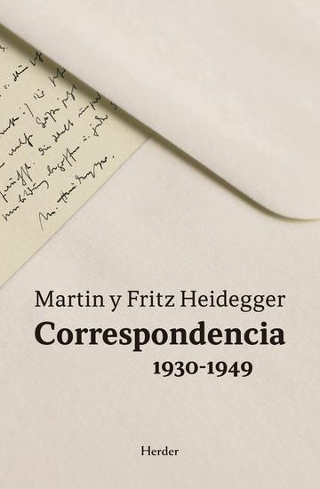 Correspondencia 1930-1949 - cover