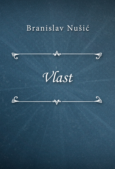 Vlast - cover