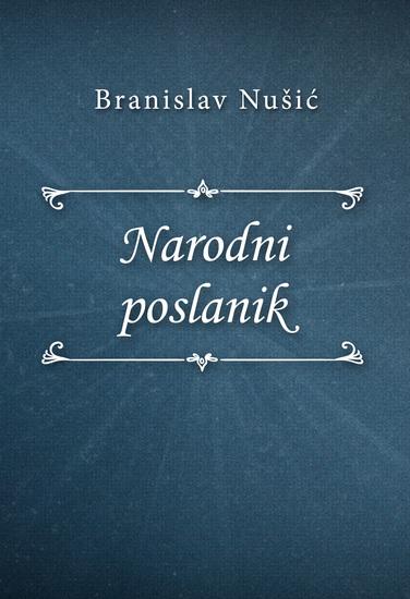 Narodni poslanik - cover