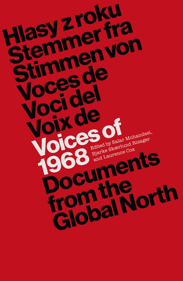 Voices of 1968 - Documents from the Global North - cover