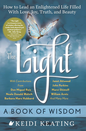 The Light: A Book of Wisdom - How to Lead an Enlightened Life Filled with Love Joy Truth and Beauty - cover
